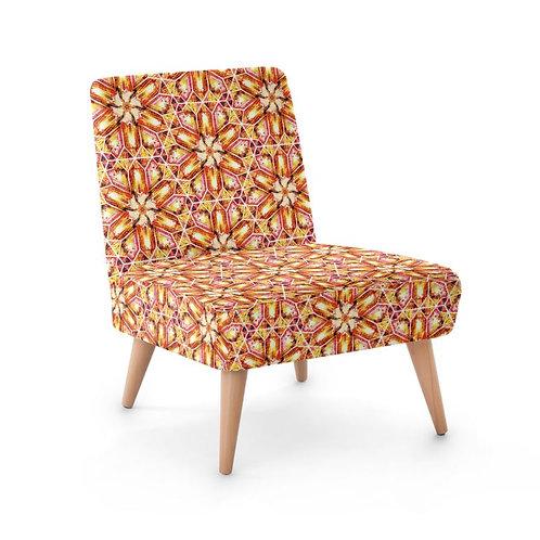 Lolita Lorenzo BUZIOS (YT) luxury faux suede chair left view