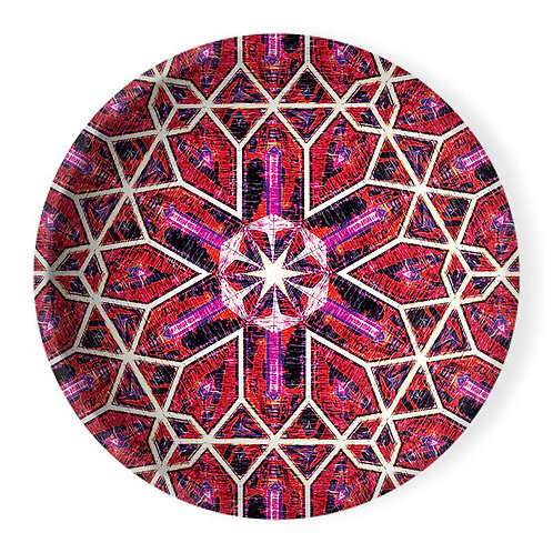 Lolita Lorenzo BUZIOS (OT) extra large decorative ceramic bowl center piece top view