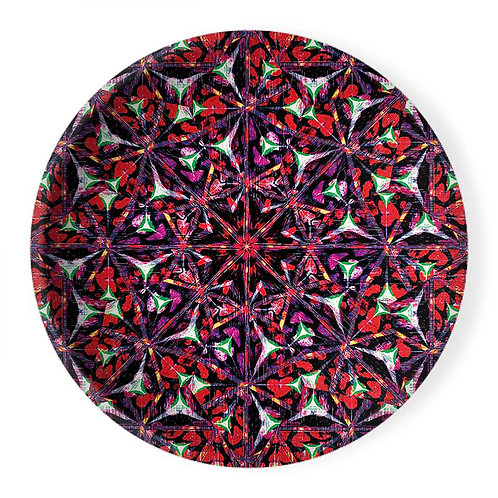 Lolita Lorenzo BAHIA (LP) extra large decorative ceramic bowl center piece top view