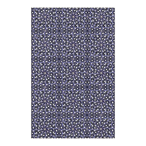 Lolita Lorenzo BAHIA (LZ) luxury large floor covering area rug mat top view