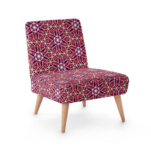 Lolita Lorenzo BUZIOS (OT) luxury faux suede chair left view