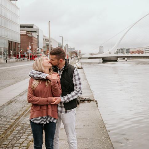 Dublin engagement, St. Stephen's Green
