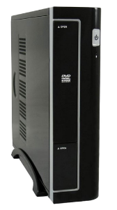 LC-Power 1370BII Black - Mini ITX Pc Case Incl. PSU LC90ITX