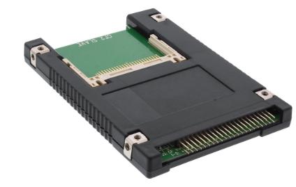 Adattatore convertitore interno per utilizzare 2x CompactFlash Type I, Type II,