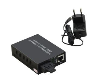 Convertitore multimediale di rete InLine® 10/100 / 1000Mb / s TP a LWL (SC Duple