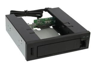 "Storage Rack, Cassetto removibili Frame 5,25"", 1x 3,5"" SATA HDD Caddy, Hot Swap,"