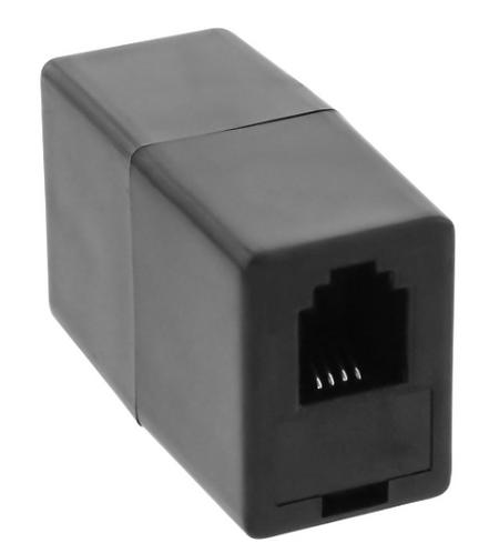Adattatore telefonico modulare RJ10 4P4C femmina / femmina, accoppiatore