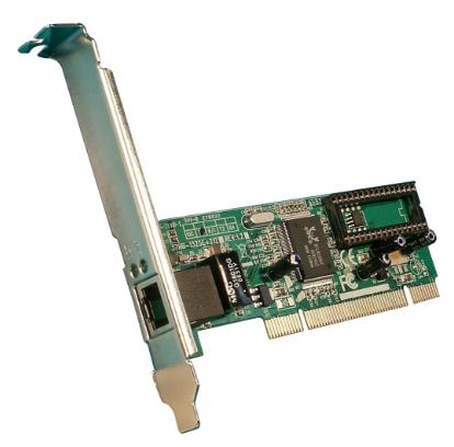 Scheda rete Lan Gigabit, PCI, LCS-8037TXR4 (staffa Low Profile Opzionale)