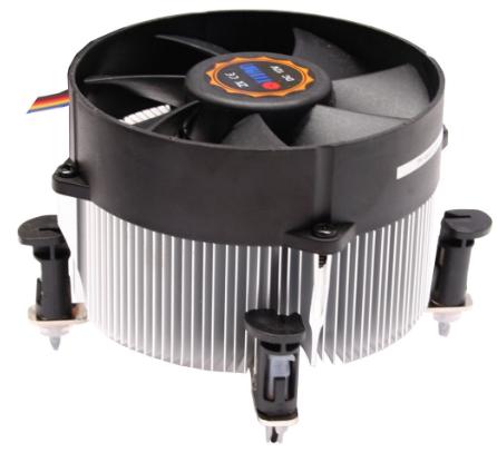 Dissipatore CPU Cooler per Intel LGA 1150/1151/1155/1156, PWM, Titan TTC-NA02TZ