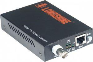 Longshine LCS-883C-TB Ethernet Media Converter TP, RJ45/BNC