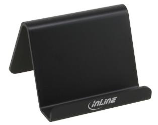 Supporto Smartphone scrivania o tavolo, 60x60x45mm, nero