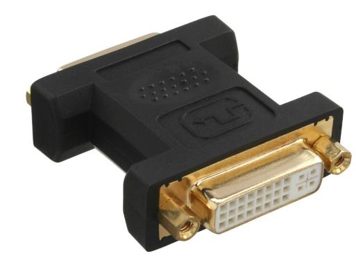 Adattatore DVI-I 24+5 femmina / femmina, digitale + analogico, dorato