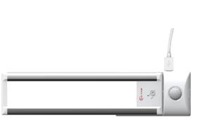 TITAN,lampada LED piatta con sensori di movimento