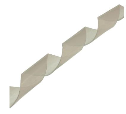 Spirale protezione cavi, diametro 20mm, flessibile, bianca, 10m