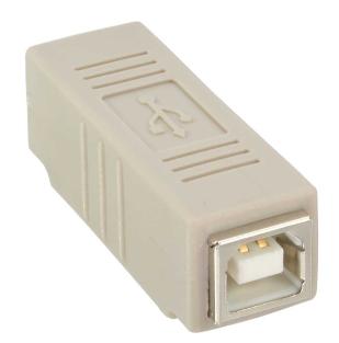 Adattatore USB 2.0 B femmina / B femmina