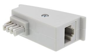 Adattatore DSL TAE-F maschio a RJ45 femmina, 8P2C per Fritzbox