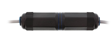 Adattatore RJ45 femmina/femmina Cat.6 schermato, protezione acqua IP67 , accoppi