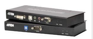 Aten CE602, KVM Extender USB, DVI Dual Link Audio RS-232 via Cat5e/6 60m