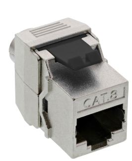 Snap-In (Keystone), RJ45 femmina / LSA, Cat.8.1, STP, per cavi AWG 22- 24