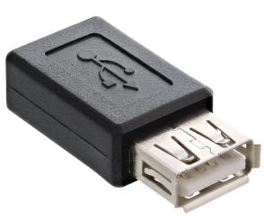 Adattatore USB 2.0 Micro B femmina / A femmina