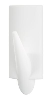 tesa® Powerstrips Ganci SMALL Classici, 2 ganci + 4 strisce biadesive removibili