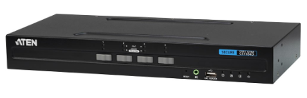 ATEN CS1184D Switch KVM USB DVI per la sicurezza a 4 porte conforme PSS PP v3.0