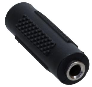 Adattatore Audio, 3,5mm Jack femmina / femmina, Stereo, accoppiatore