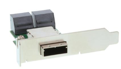 Adattatore SAS su staffa PCI low profile da 26-pin Mini SAS (SFF-8088) esterno (