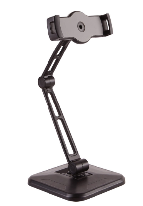 """Supporto per tablet, per montaggio a parete o tavolo, universale per 4,7""""-12,9"""""""