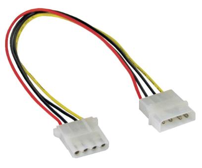 """Cavo alimentazione interna da 4 pin IDE/PATA ( 5,25"""" ) maschio a 4 pin IDE/PATA"""