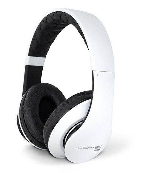 Cuffie stereo, Jack 3,5mm, nero/bianco, Fantec SHP-3