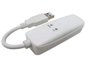 Longshine Fax Modem USB, 56K, V.92, LCS-8156C1, Ideale per MAC