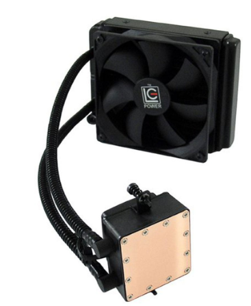 Dissipatore a liquido CPU, ventola 2x 120mm, LC-Power Liquid cooler LC-CC-240-Li