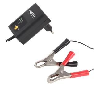 Caricabatterie batterie al piombo, 2V, 6V, 12V, PbBC ALCS2-12 (Ansmann 1001-0015