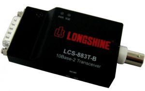 LCS-883T-B - Ethernet AUI to COAX Transceiver BNC
