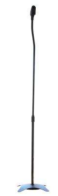 Supporto casse acustiche, Piedistallo telescopico 68-110cm, nero, 2pz