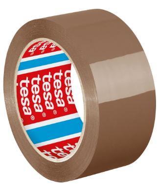 Nastro da imballaggio universale in PP, 66m x 50mm, marrone