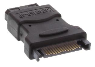 "Adattatore SATA Power Typ-L 15pin maschio a 4pin femmina 5,25"" (LP4)"