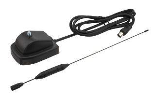 DVB-T Antenna TV Digitale terrestre per interni Indoor, Banda VHF/UHF, Adattator