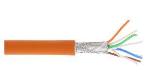 InLine® Cavo LAN Cat.6A (10Giga), S/FTP (PIMF), 4x2xAWG 26/7  100MT