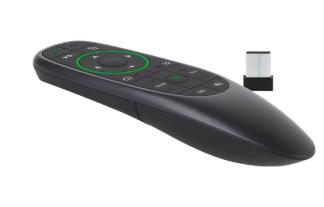 FANTEC AIR-200, telecomando Air Mouse wireless, nero