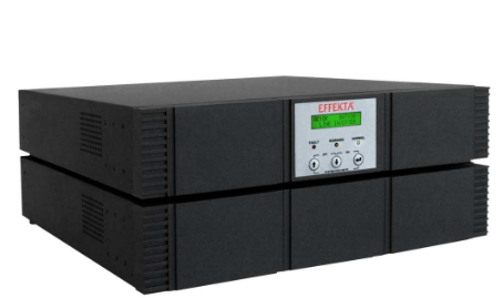 "UPS 3000 VA, Online double-conversion, Aut. 39 min., 19"", 3x2HU (cabinet batteri"