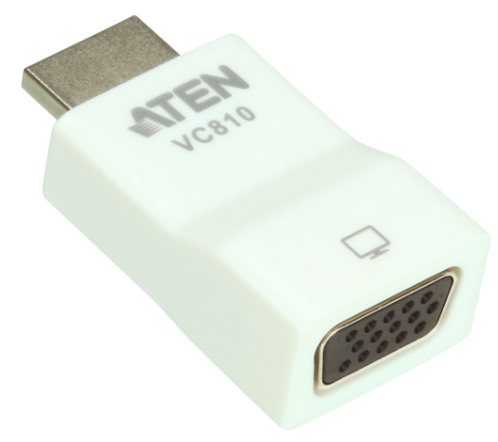 Aten VC810 Adattatore HDMI a VGA, 1920 x 1200, 1080p