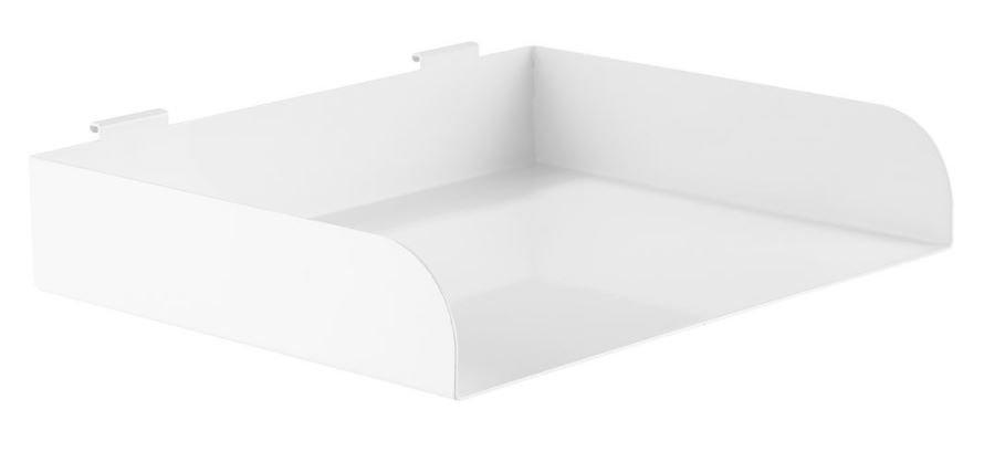 Mensola InLine® Slatwall, grande, bianca