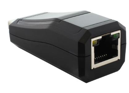 Adattatore di rete Lan Giga per porte USB 3.0, 1x RJ45 10/100/1000Mbps, compatto