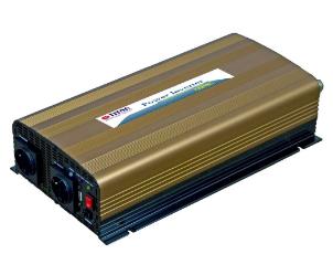 Inverter universale per Auto, Camper, In 12V/DC, Out 230V/AC, 1000W, USB 5V, Tro