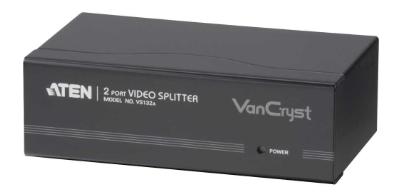 Copia di Aten VS132, S-VGA Splitter Audio/Video, 2 porte, 80Hz