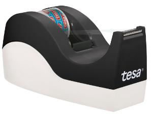 tesa Easy Cut, dispenser da tavolo Orca con tesafilm cristallino 10m: 19mm