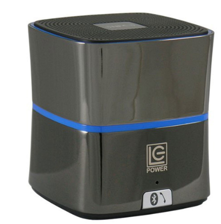 Speaker portatile Bluetooth, 5W funzione NFC, LC-Power LC-SP-3B-Cylindron antrac