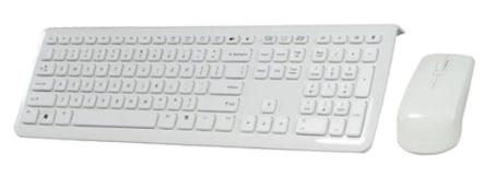 Set Mouse & Keyboard, Tastiera Layout TEDESCO, Perixx PERIDUO-703 W DE